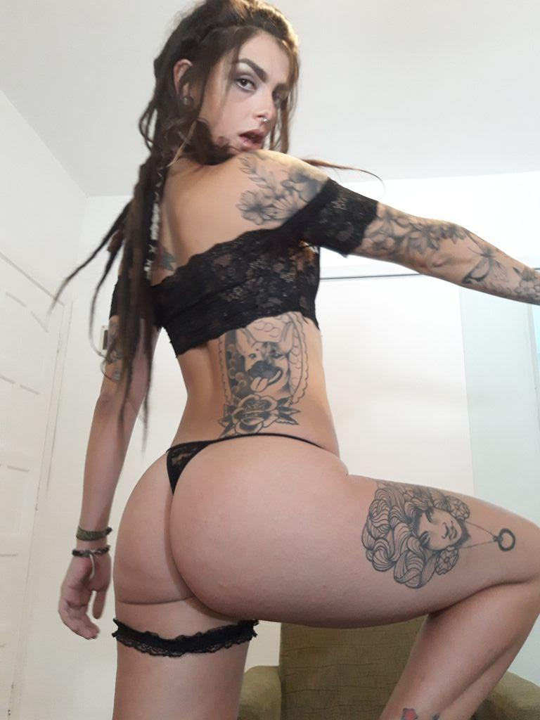 Camgirl Dread Hot de fio dental