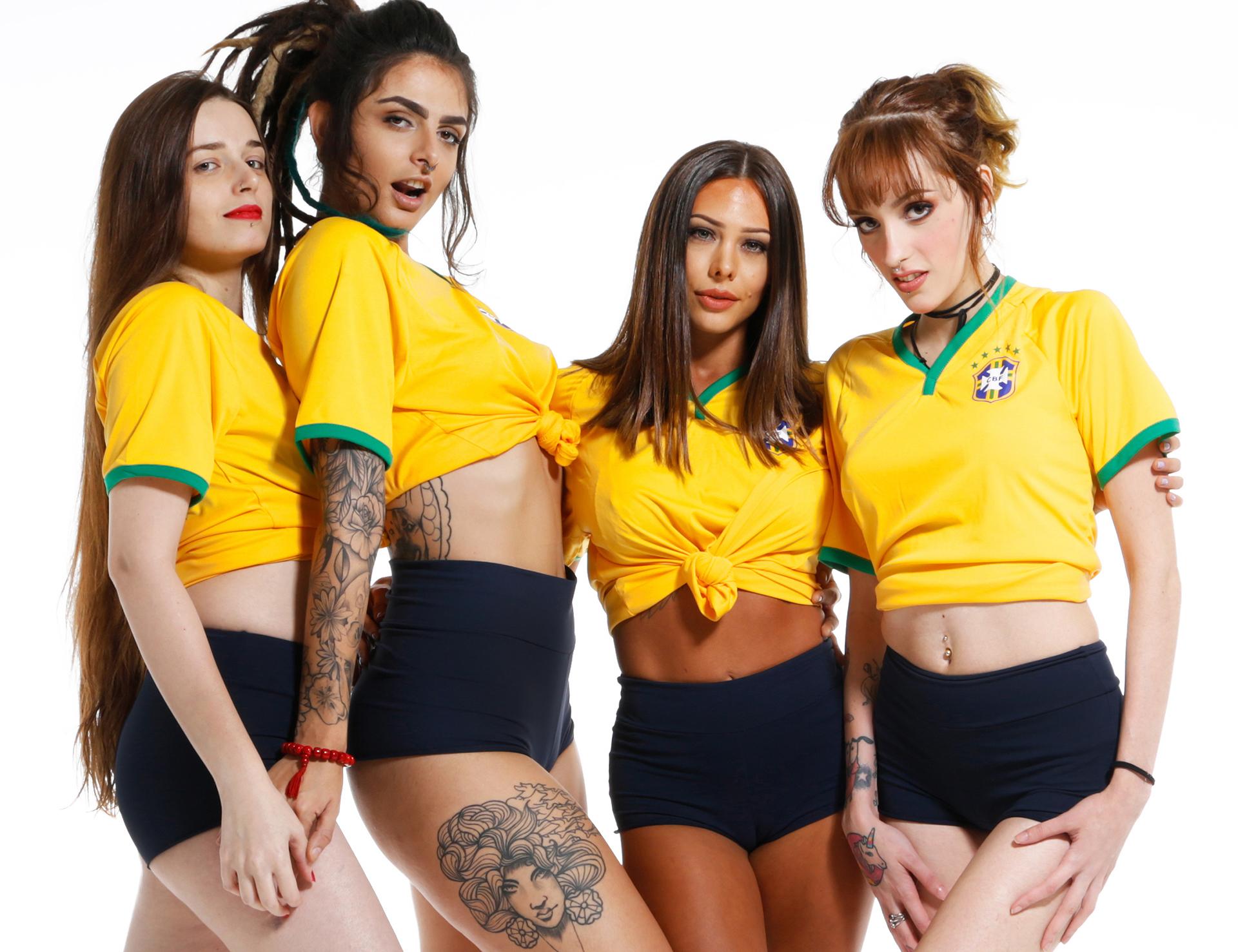 camgirls que torcem para o Brasil